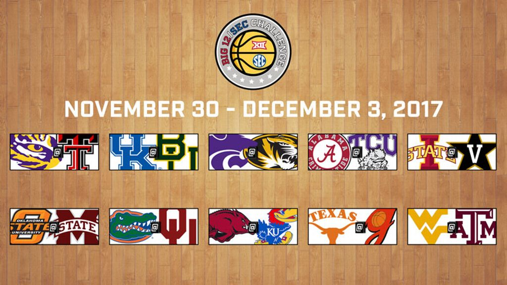 2017 Big 12/SEC Challenge schedule set