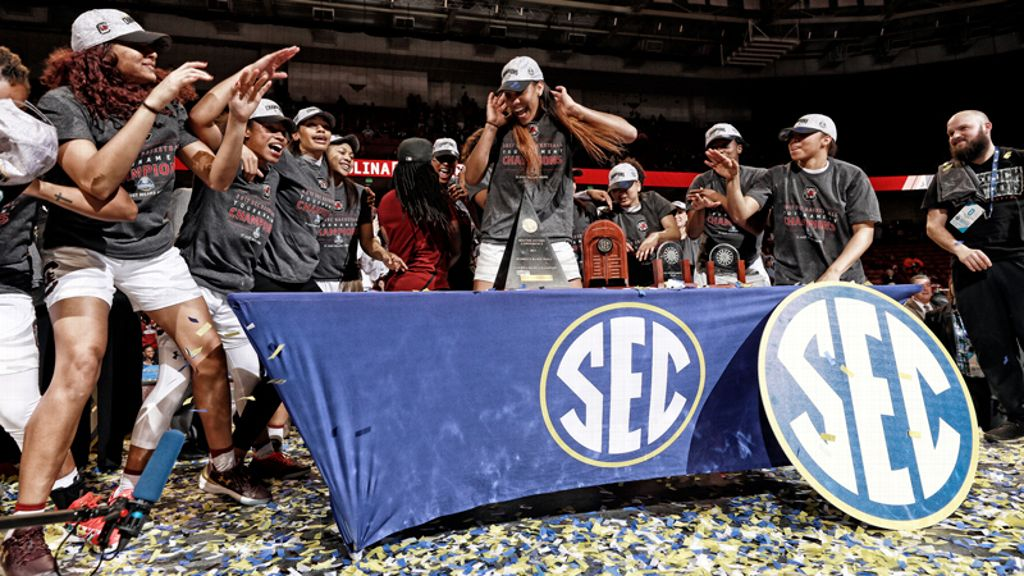 Media tabs Gamecocks as SEC Women's Basketball Champion