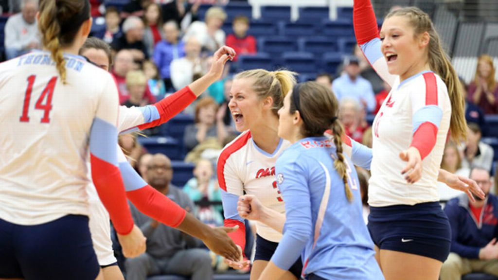 Ole Miss downs SFA 3-0 in first round of NIVC