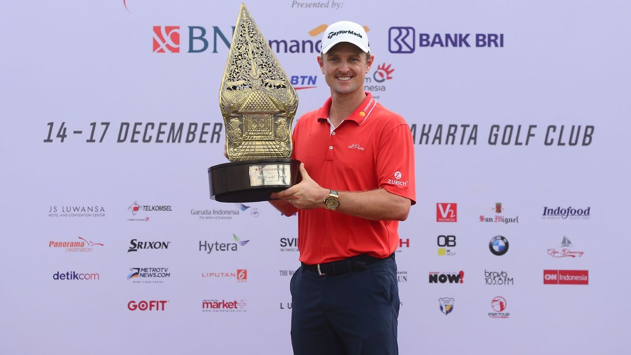Espn Layoff List >> Justin Rose easy winner of Indonesian Masters