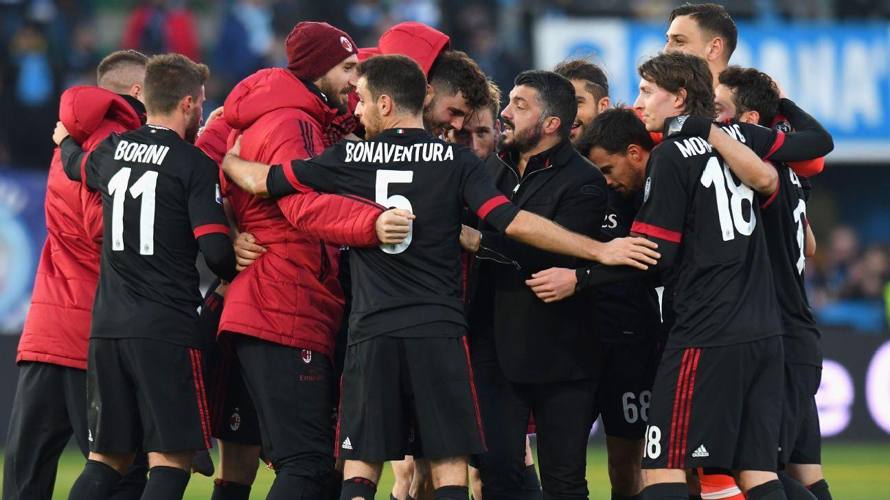 ac milan team photo