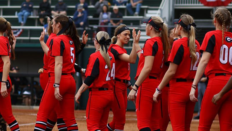 No. 17 UGA blanks Samford, Winthrop
