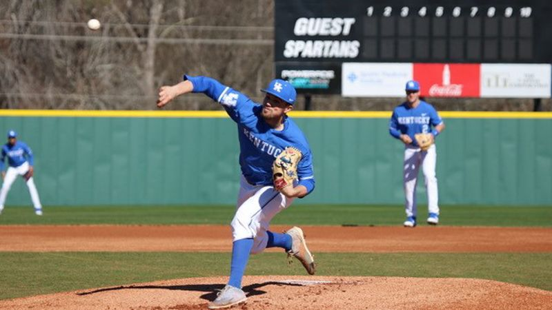 No. 8 Kentucky defeats Evansville 8-4