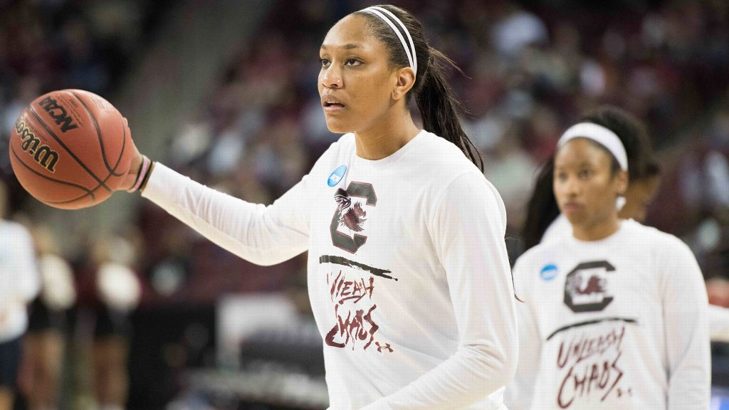 Gamecocks' Wilson selected as Wooden Award finalist