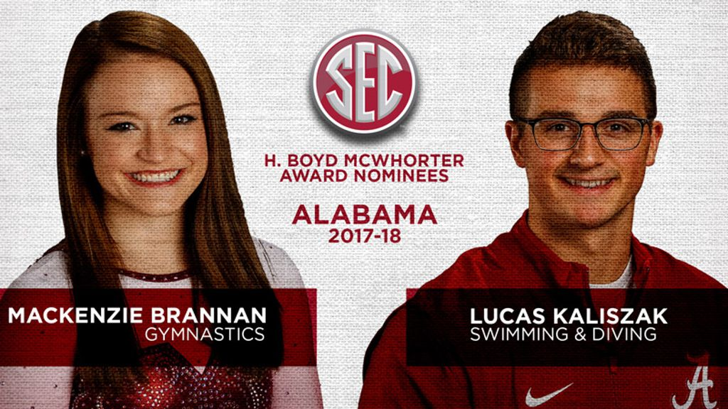 Alabama nominees for McWhorter Award announced