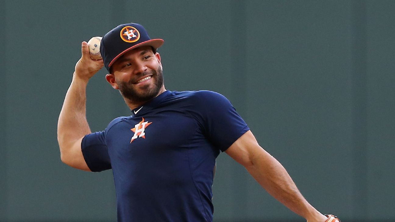 José Altuve will not return from DL during the Astros stay at home