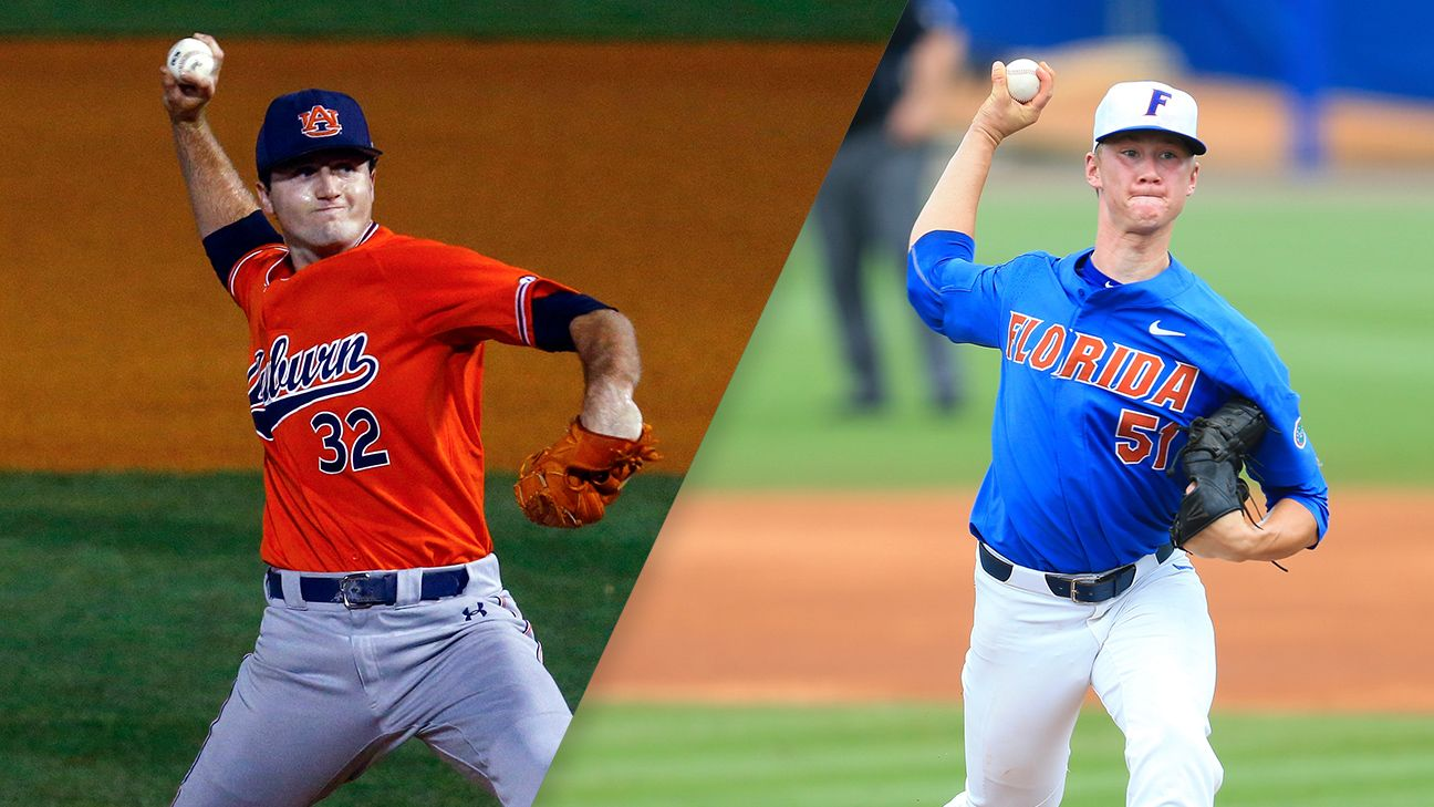 AU's Mize, UF's Singer named Golden Spikes finalists