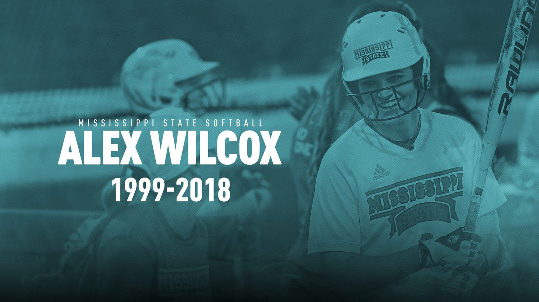 Mississippi State softball inspiration Alex Wilcox dies
