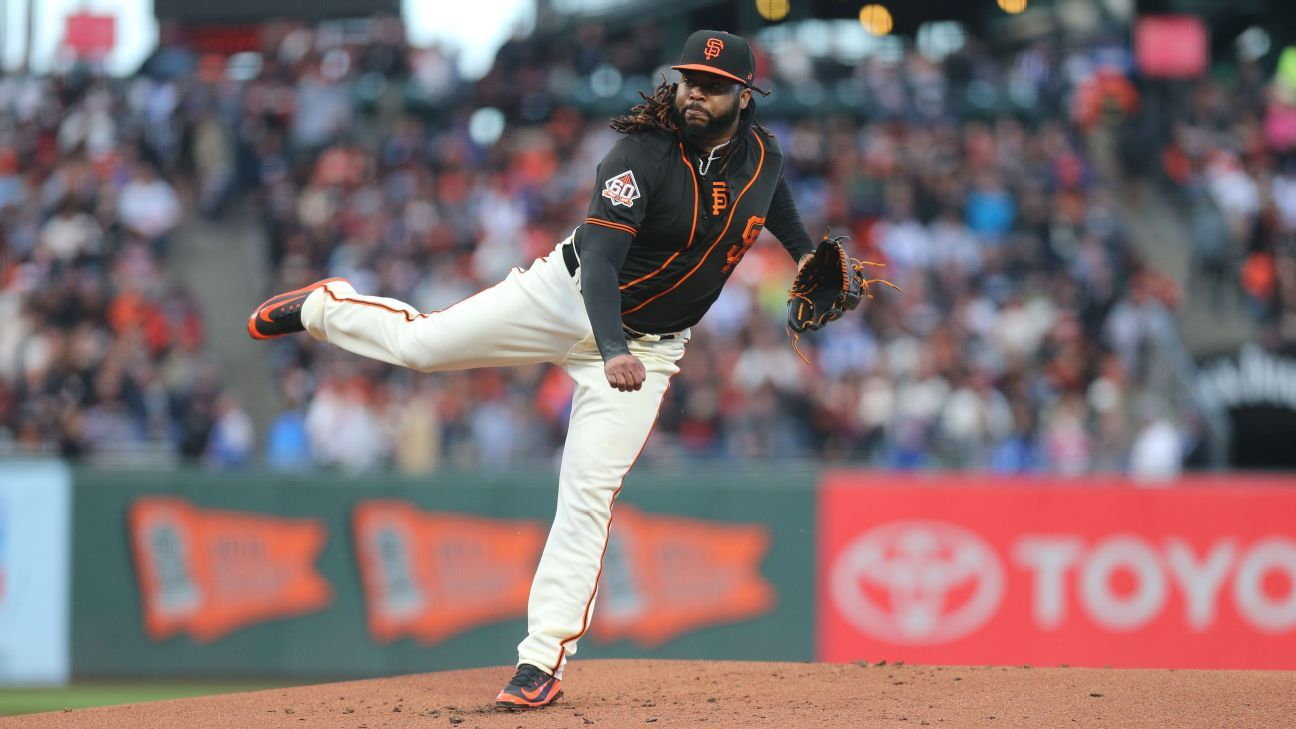 Giants RHP Cueto to have Tommy John surgery