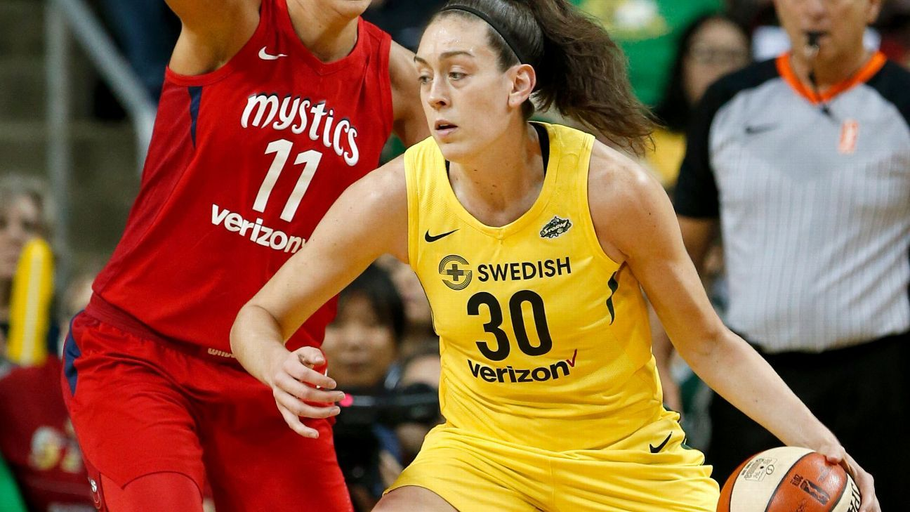 Mystics must look to have an early answer for Storm in Game 2