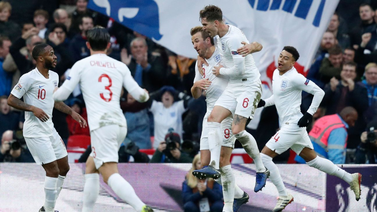 UEFA Nations League 2018 Report: England 2 Croatia 1  - England progress to UEFA Nations League semifinals after beating Croatia