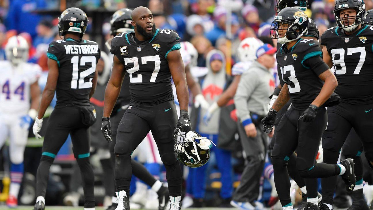La NFL suspendió un partido en el corredor de los Jacksonville Jaguars, Leonard Fournette