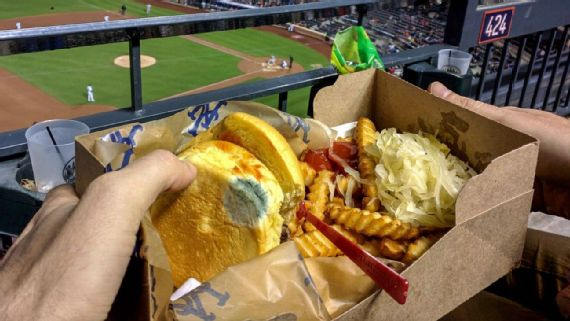 What's lurking in your stadium food?