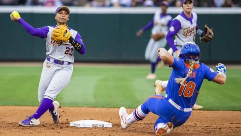 Softball: No. 7 Florida vs. No. 8 LSU