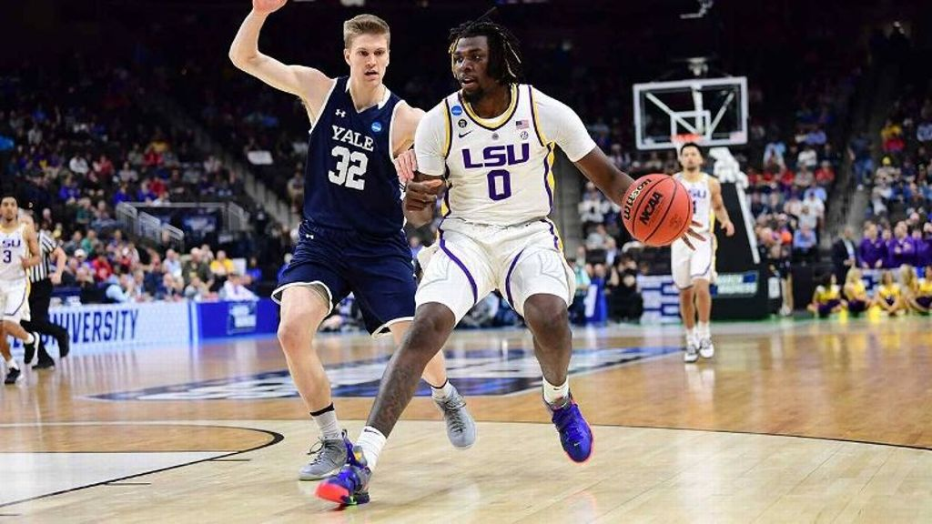 LSU advances in NCAA Tournament, 79-74, over Yale