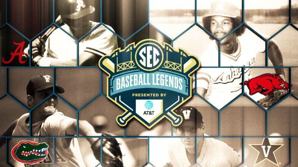 SEC announces 2019 Baseball Legends