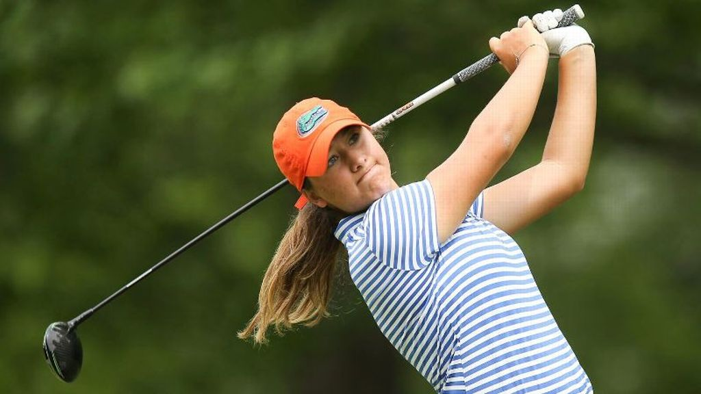 Gators take six-shot lead at women's golf championship