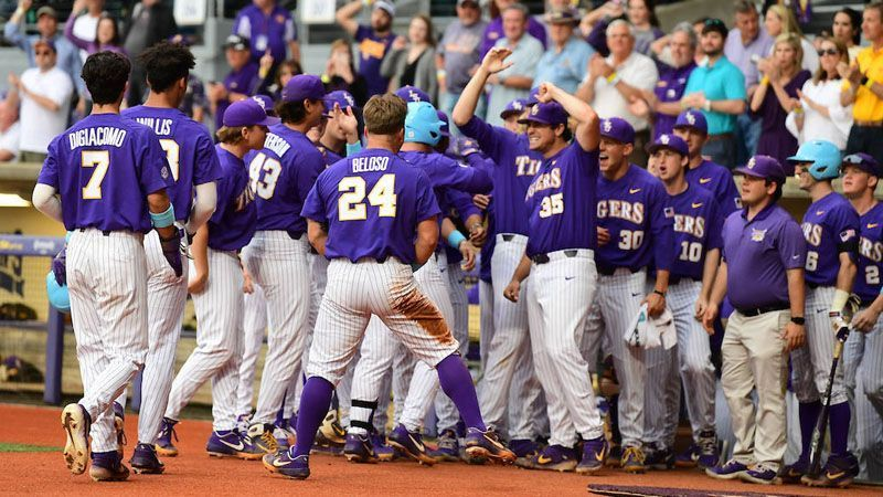 No. 16 LSU holds on vs. Lamar 5-3