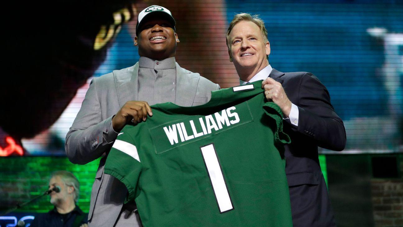 Quinnen Williams, DT, New York Jets