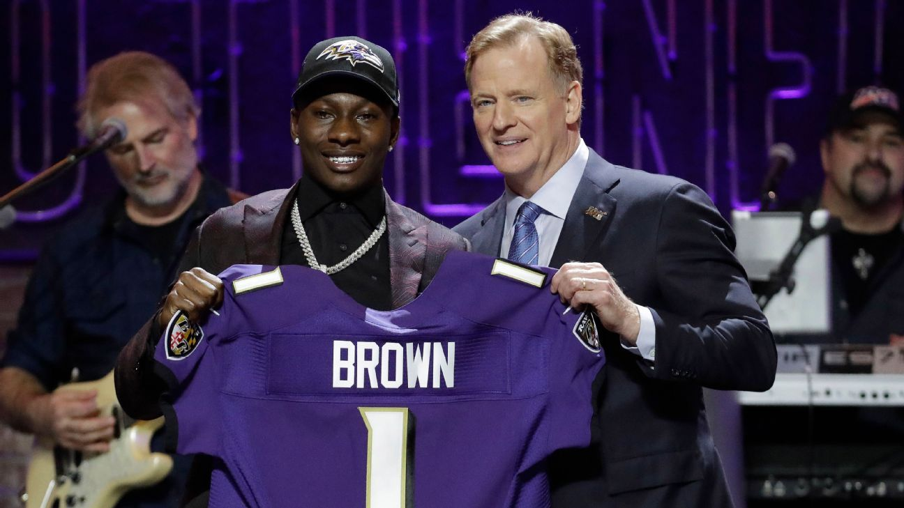 Marquise Brown, WR, Baltimore Ravens