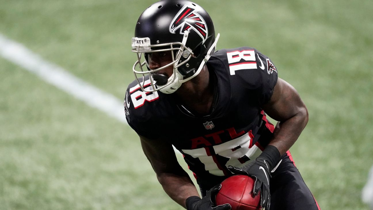 Falcons' Ridley won't travel to London for game