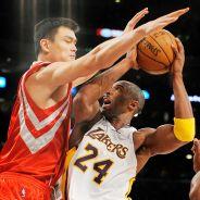 Yao Ming, Kobe Bryant
