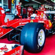 Sebastian Vettel tests Pirelli's 2017 compound at Fiorano
