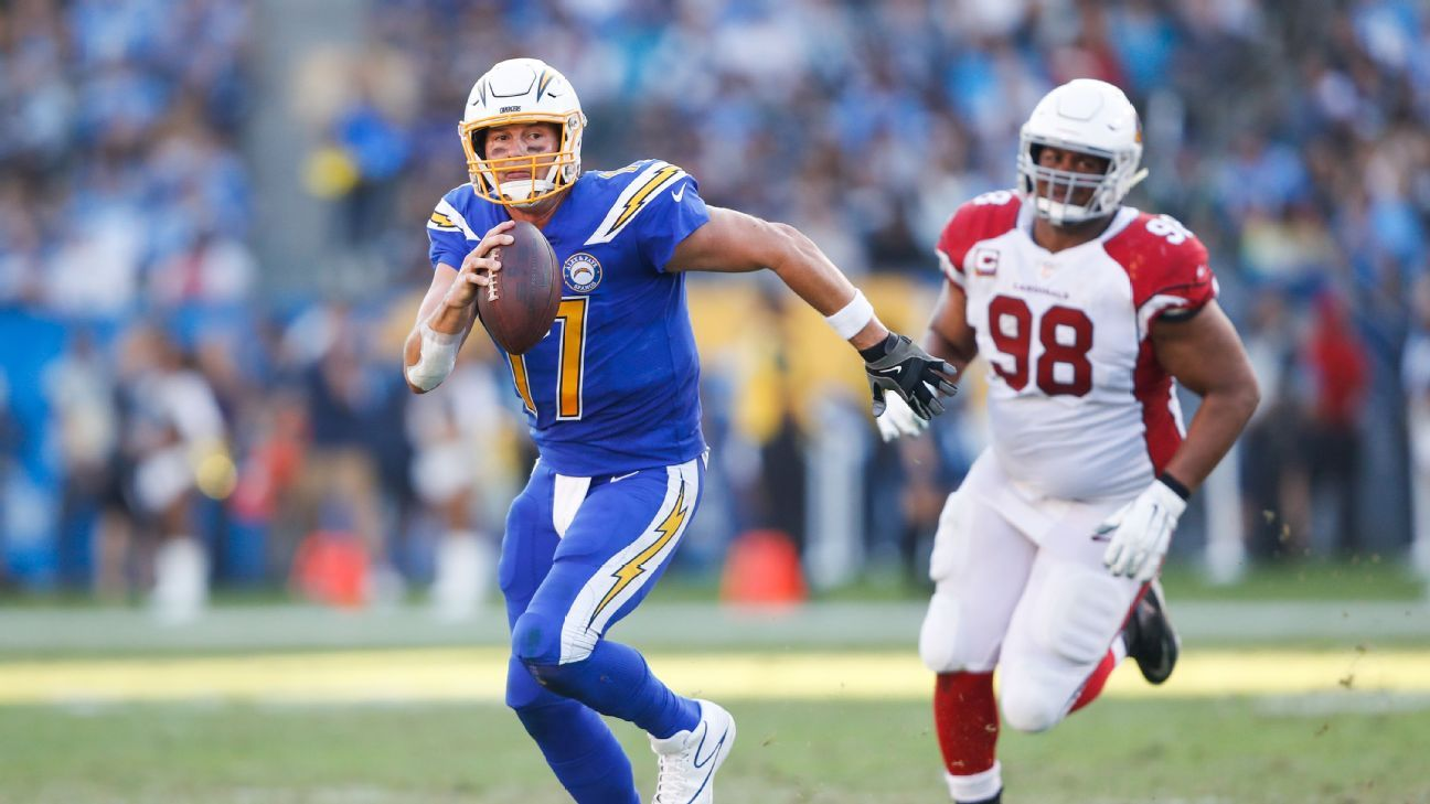 Philip Rivers, QB, Los Angeles Chargers