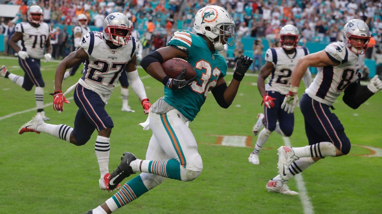 Kenyan Drake, RB, Miami Dolphins