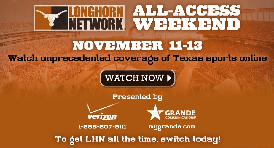 Longhorn Network Free Preview Weekend!