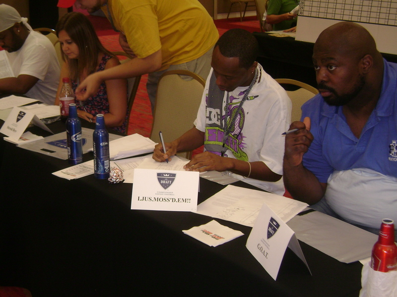 2011 Fantasy Football Draft