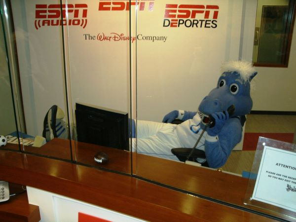 Champ Stops by ESPN
