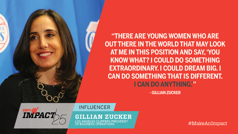 Gillian Zucker, 45, Los Angeles Clippers President Of Business Operations