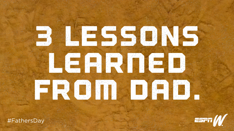 Most of the time Dad sounds like a crazy old man but, if you really listen, some of it actually makes sense. In honor of Father's Day, here are some Dad Lessons to live by.