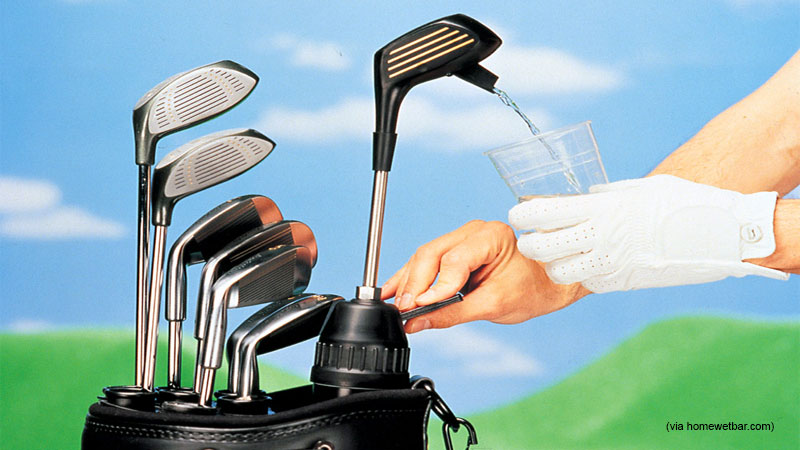 Beer Tap Golf Club (89.95, Hammacher.com)