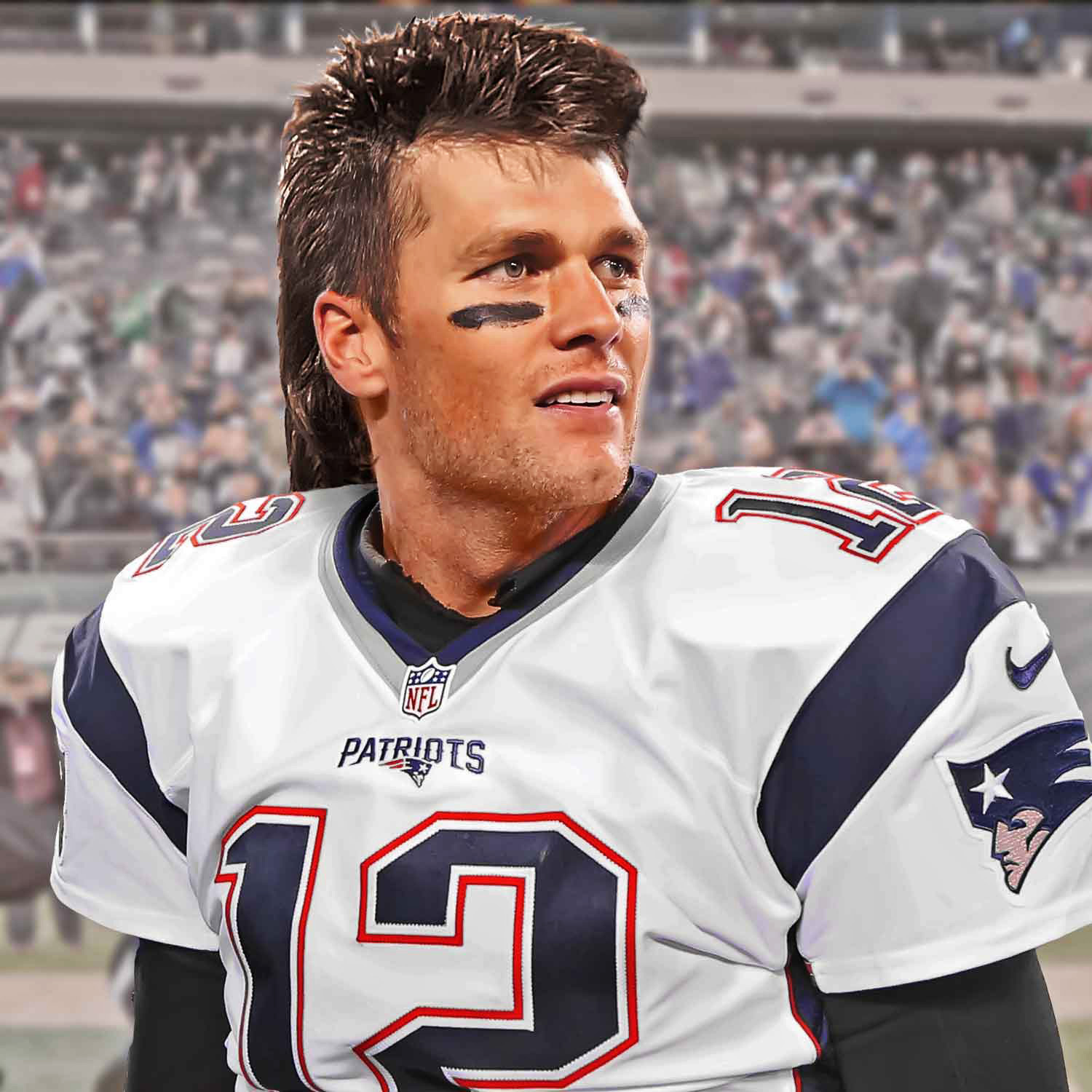 Mullet makeover What LeBron James Tom Brady and Tiger Woods