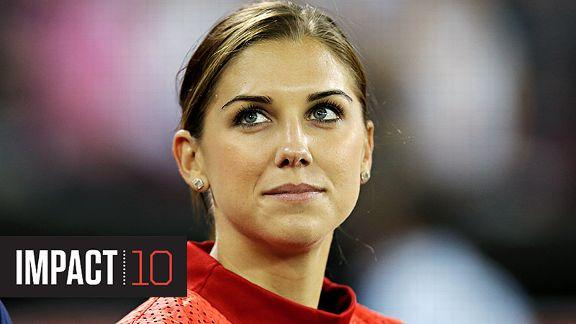 espnW -- Soccer star Alex Morgan is No. 10 on our Impact 10 list