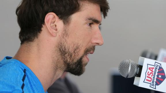 Olympian michael phelps discusses his return to competitive swimming