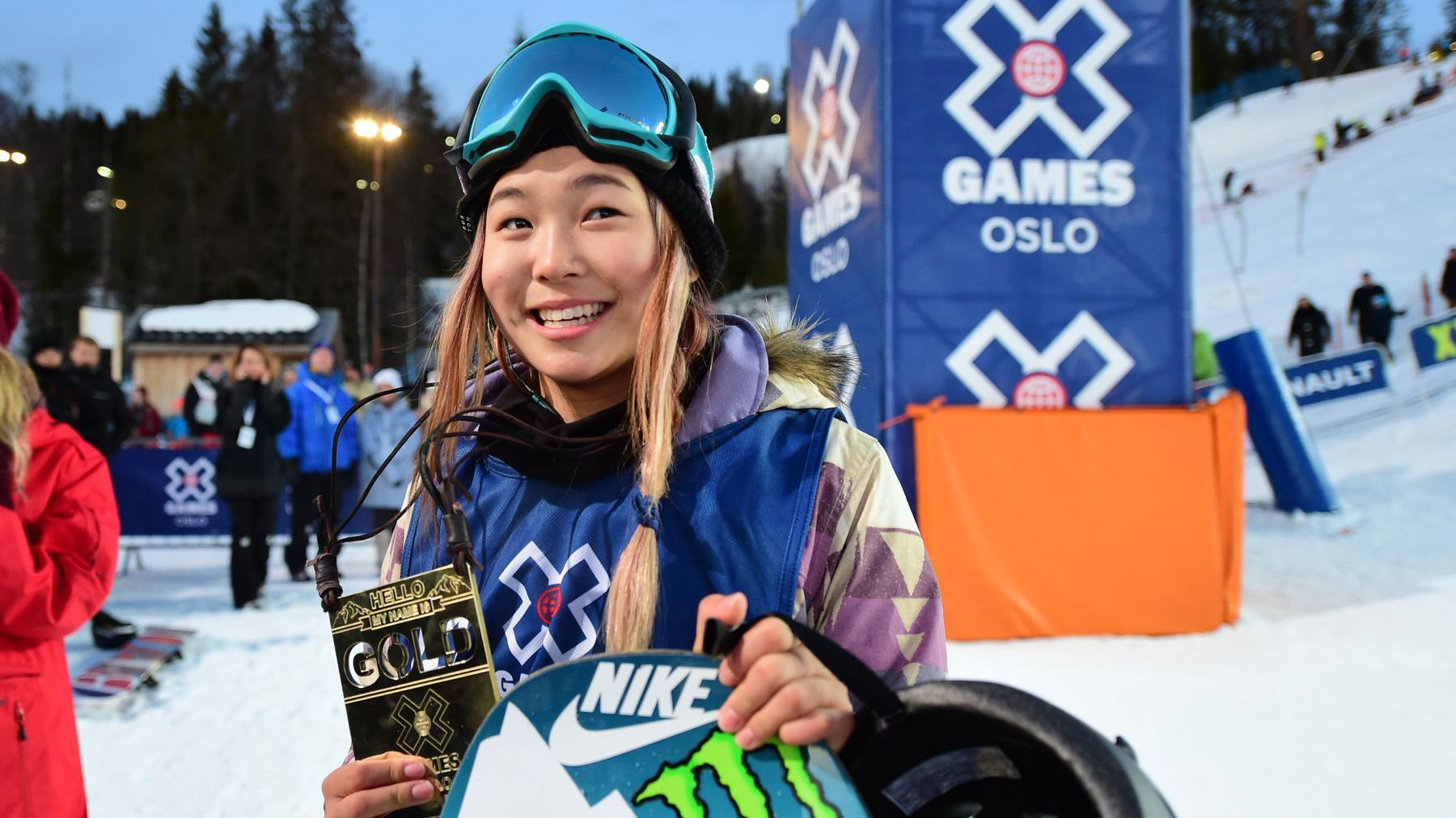 Chloe Kim's official X Games athlete biography