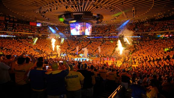 Warriors offering $100 monthly pass with no view of court