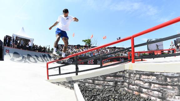 Nyjah Huston's official X Games athlete biography
