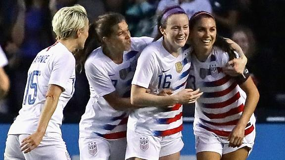 U.S. win Tournament of Nations, unbeaten Matildas finish second