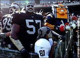 Do these fans have what it takes to play for the Raiders?