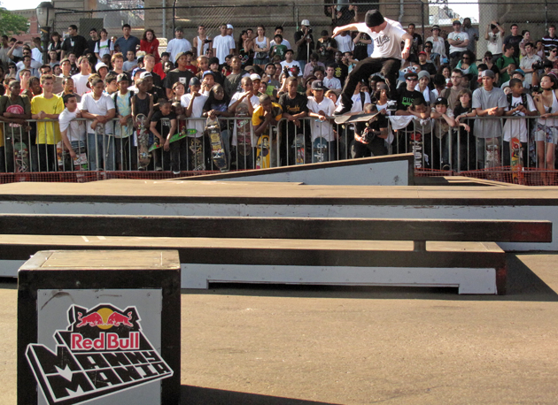 Mike Mo didn't come in first because Eli Reed crushed it all around, but this switch tre flip switch manual was no joke.
