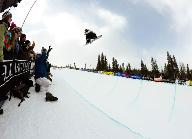 Shaun White took top honors at the first Winter Olympic qualifier of the year at Copper Mountain.