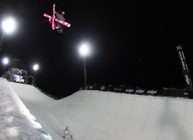 Sarah Burke boosting smoothly with style for days. No wonder she has five WX medals.