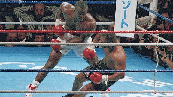 Buster Douglas vs Mike Tyson