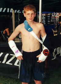 John Daly, two broken wrists. Sept. 2000.