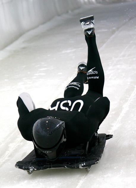 John Daly, preparing for the 2010 Winter Olympics.