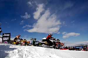 Poplawski competed in last winter's inaugural Adaptive SnoCross event at Winter X Games.